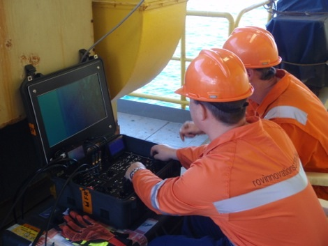 ROV underwater inspection biosecurity