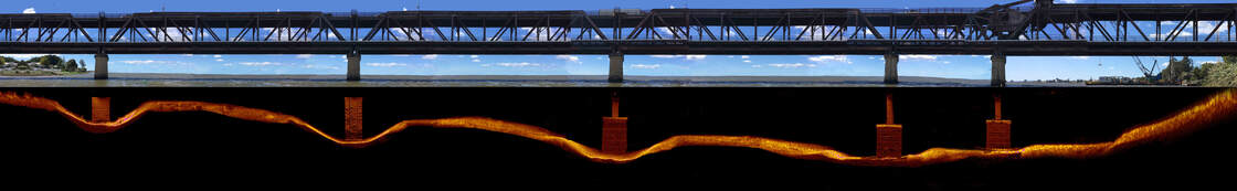 sonar underwater inspection and surveying of bridges