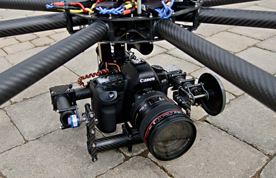 Cinestar 8 Octocopter with Canon EOS 5D