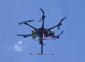 S800 Unmanned Aerial Vehicle with HD camera